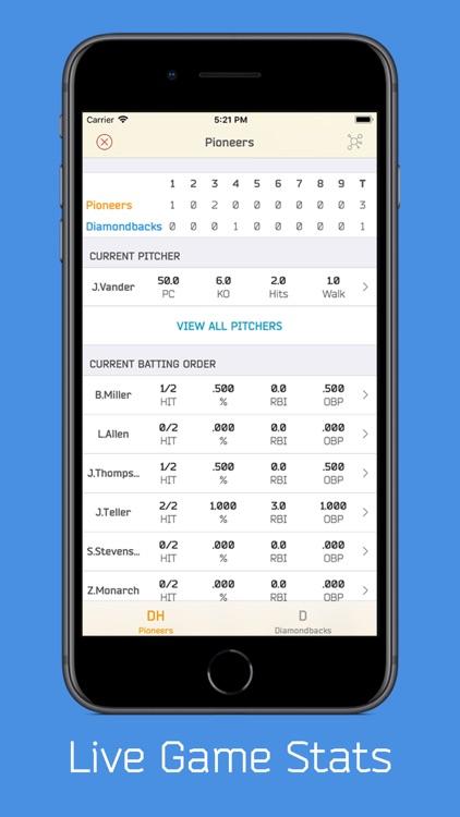 DiamondMetrics Baseball Stats screenshot-5