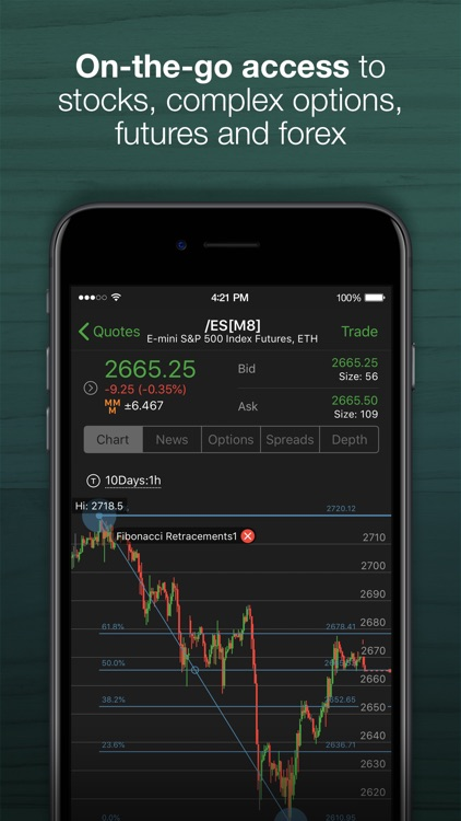 thinkorswim: Buy. Sell. Trade. screenshot-0