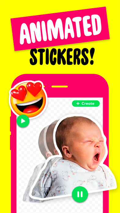 Sticker Maker + Stickers Screenshot