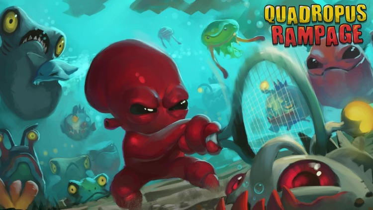 Quadropus Rampage screenshot-0