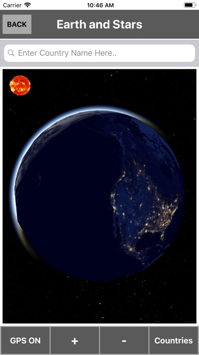 Screenshot for 3D Earth Globe in South Africa App Store