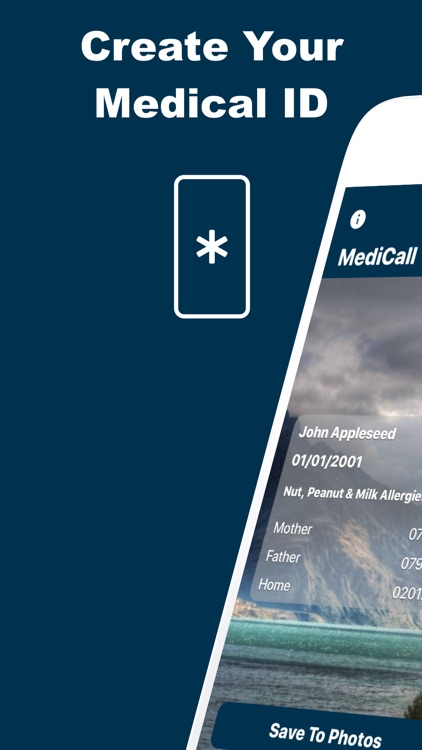 MediCall: Emergency Medical ID