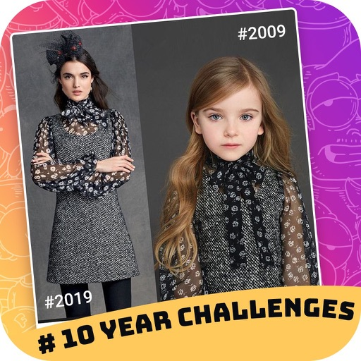 10 Years Challenge Photo Maker
