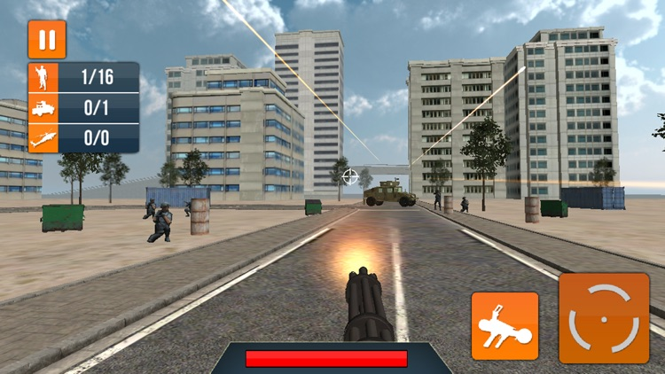 Machine Gun Snip War Shooting screenshot-3