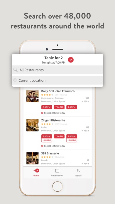 download OpenTable apps 4