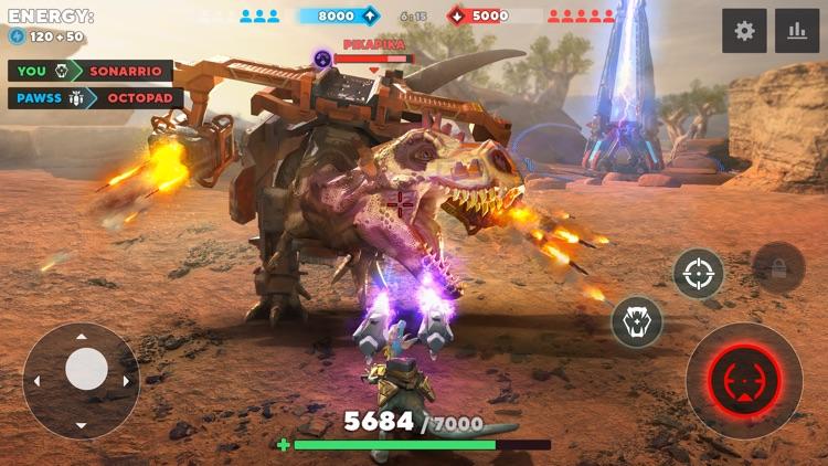 Dino Squad: Online Action screenshot-0