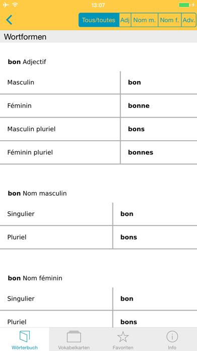 Französisch XL Pro Wörterbuchのおすすめ画像5