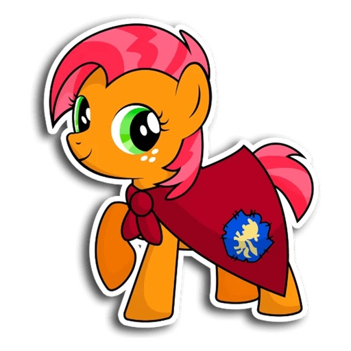 Pony Cute Funny Stickers