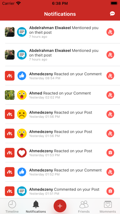 messages.download Memo - Social App software