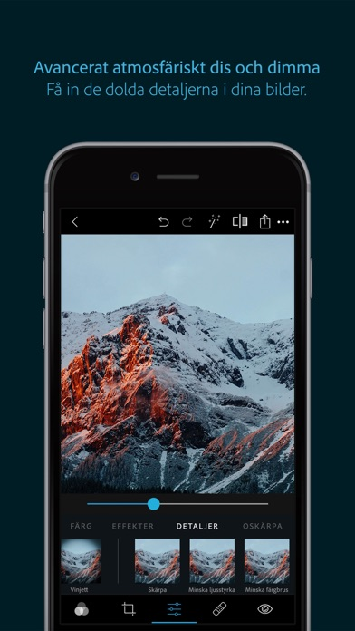 Screenshot for Photoshop Express-redigerare in Sweden App Store