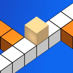 3D Cube Cross way Color Game