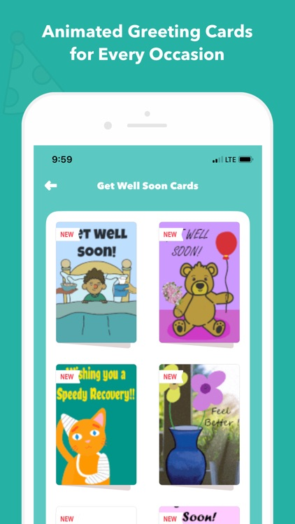 CardSnacks: ecards, greetings screenshot-4