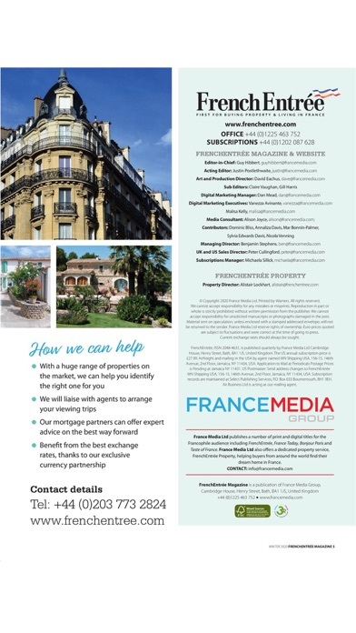 FrenchEntrée MagazineScreenshot of 5
