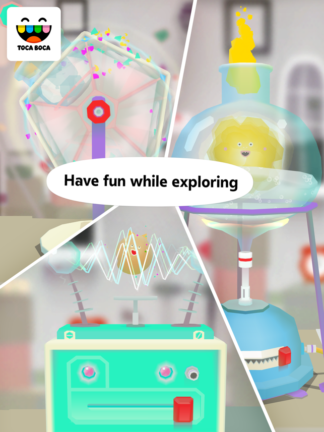 ‎Toca Lab: Elements Screenshot