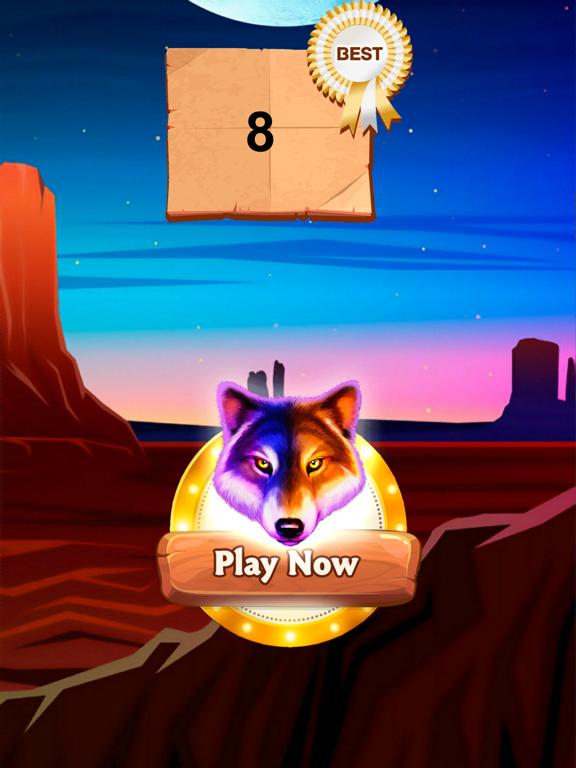 Wolf Gold Dream HD screenshot 4