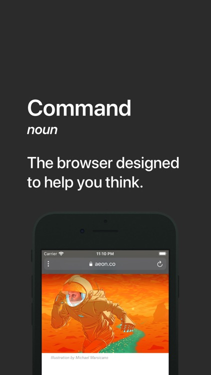 Command – A Better Browser