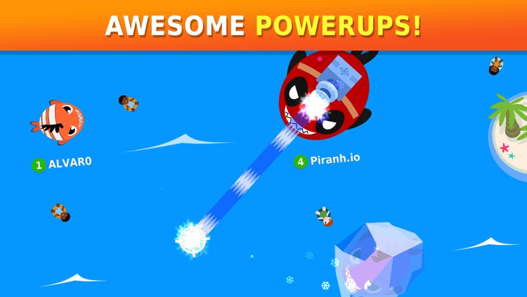 Piranh.io: Fun Online Battle! screenshot-4