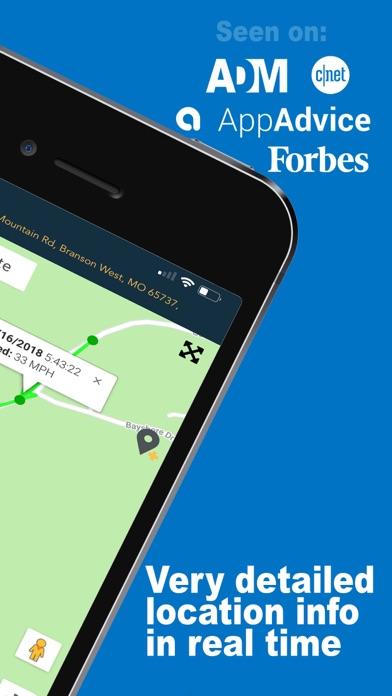 GPS Tracker - Locator ChirpGPS Screenshot
