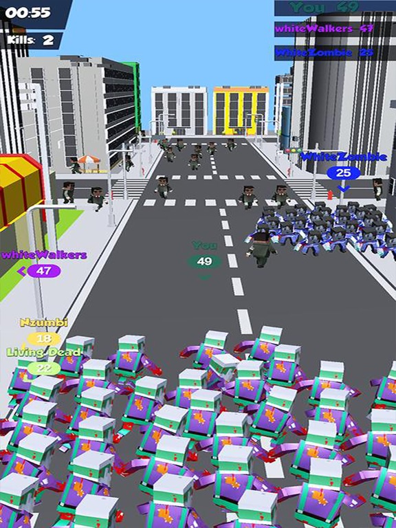 Zombies Crowd In City 2019 screenshot 7