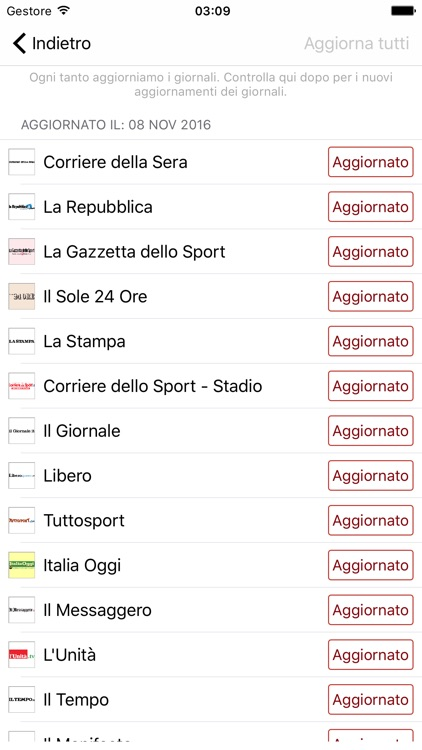 Giornali Italiani - Notizie screenshot-3