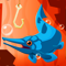 App Icon for Go Fish: Jurassic Pond App in United States IOS App Store