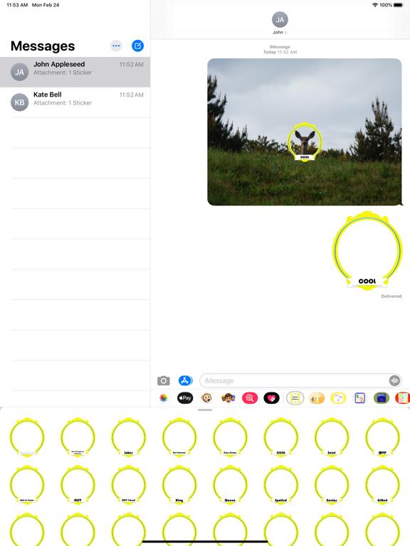 frames stickers screenshot 3