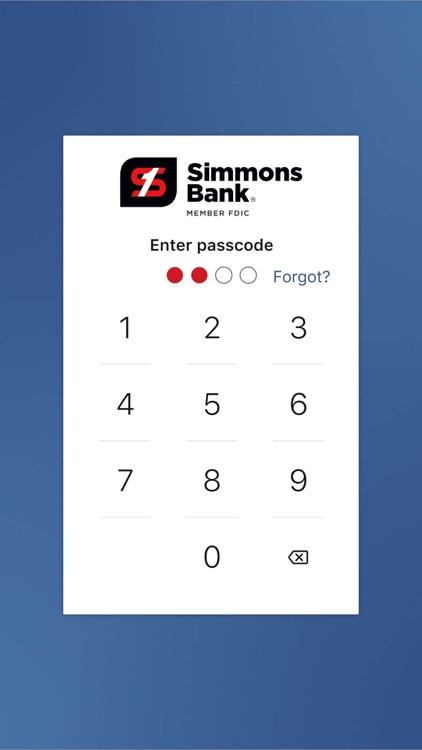 Simmons Bank screenshot-6