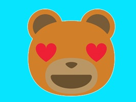 Teddy bear emoji is the best sticker pack app for all the person who love send messages around the world