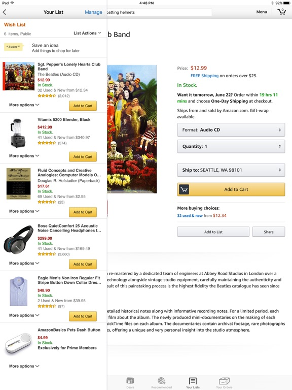 Screenshot #3 for Amazon - Shopping made easy