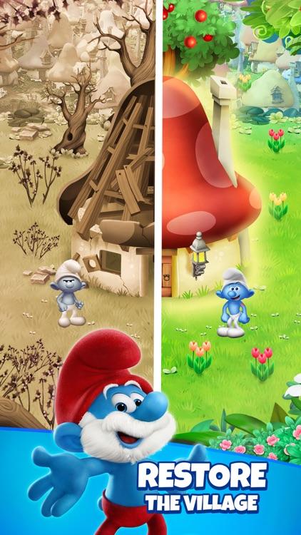 Smurfs Bubble Shooter Game screenshot-3