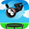 Stickman Trampoline Jumping