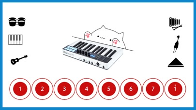 Bongo Cat Musical Instruments Screenshots