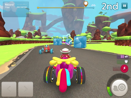Starlit On Wheels: Super Kart для iPad