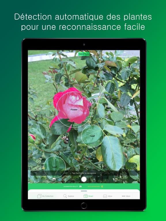 PlantSnap: Fleurs et arbres