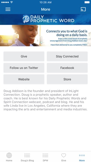Doug Addison App on the App Store