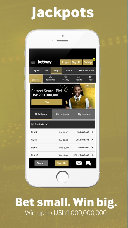 Betway Sport Betting screenshot-5