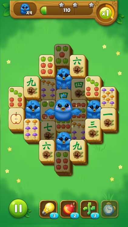 Mahjong Forest Puzzle