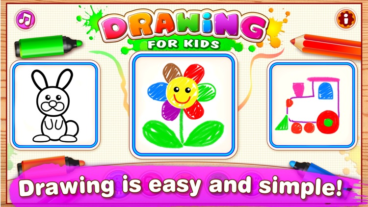 DRAWING FOR KIDS Games! Apps 3 screenshot-0