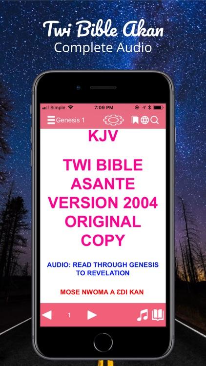 Twi Bible Akan screenshot-0