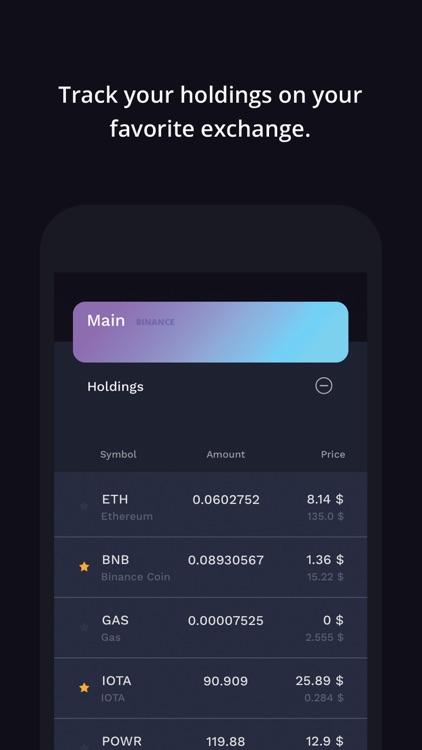 Auga Crypto Portfolio Tracker screenshot-3