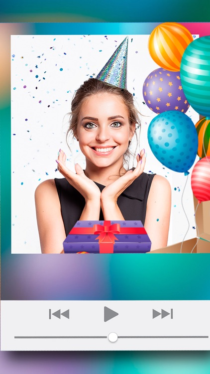 birthday video maker app with song