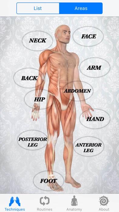 Massage Techniquesのおすすめ画像2
