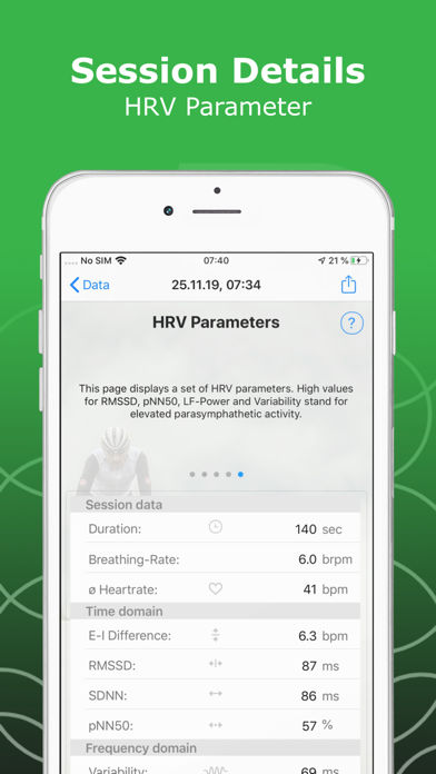 HeartBreath HRVのおすすめ画像8