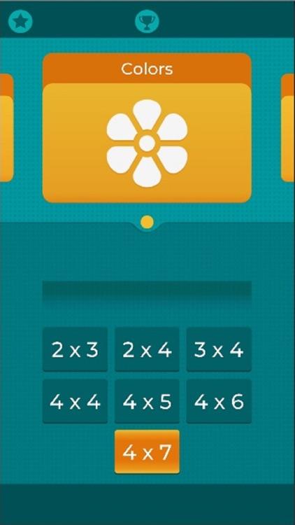 Pairs. Logical thinking game screenshot-7