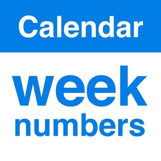Week Numbers - Calendar Weeks