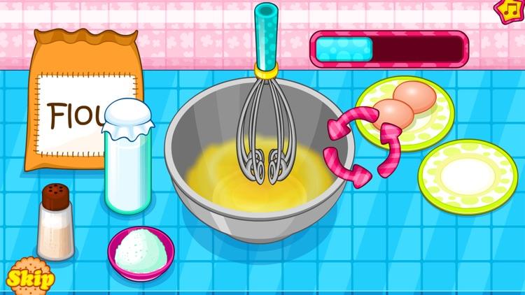 Cooking owl cookies game
