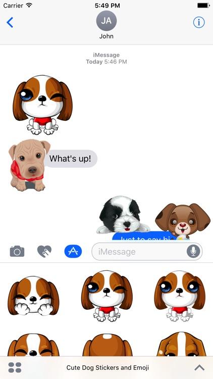Cute Dog Stickers & Emoji screenshot-3