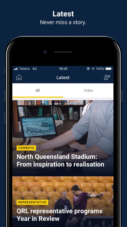 North QLD Cowboys screenshot-4