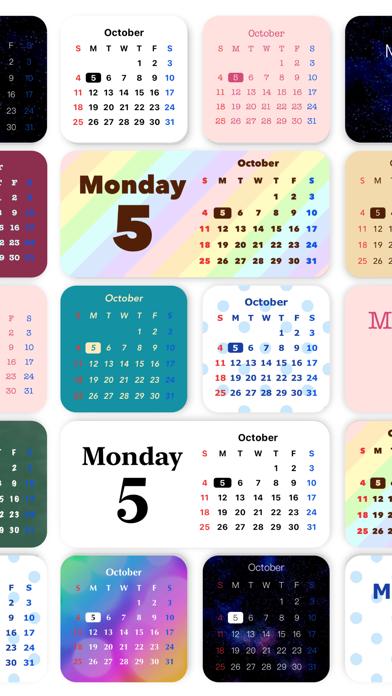 写真ウィジェット 時計カレンダー - Widgets SDのおすすめ画像3