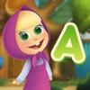 マーシャとクマ:単語を学習しよう - iPadアプリ